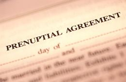 New Jersey Family Law Prenuptial Agreements