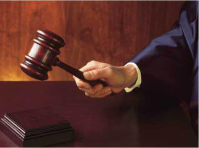 NJ DIVORCE JUDGE WITH GAVEL