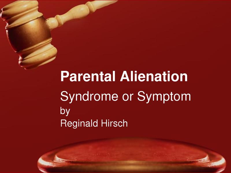 NJ DIVORCE PARENTAL ALIENATION